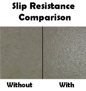 Slip Resistant Coating
