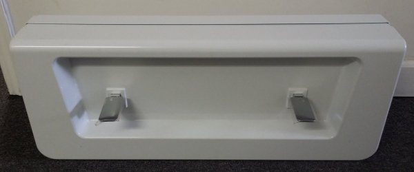 Image showing the front view of the tub conversion cover