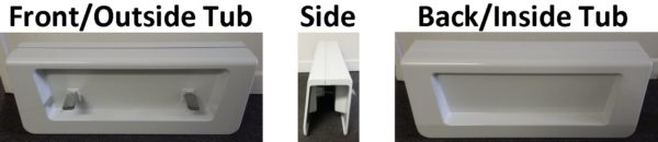 Tub Conversion Cover Views